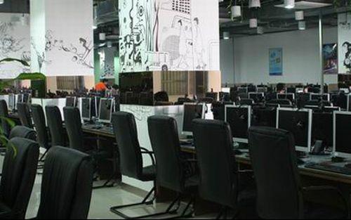 中国のインターネットカフェ