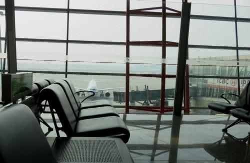 最近の北京空港周辺の様子