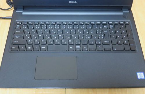 Inspiron 15 3000シリーズのキーボード