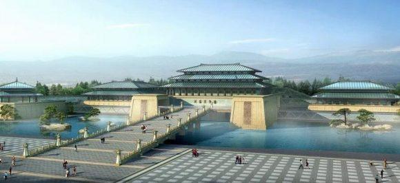 咸陽博物院完成図(出典:人民網